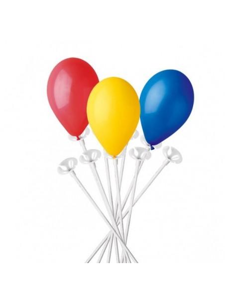 Astina con valvola per palloncini