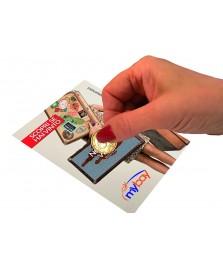 Gratta e vinci Soft Touch stampata