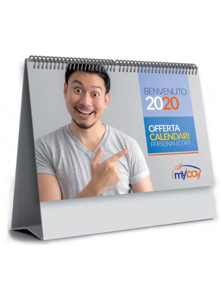 Calendarietto da tavolo personalizzato stampata