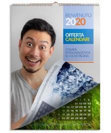 Calendario da muro personalizzato stampata