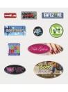 etichette resinate lenticolari effetto 3d